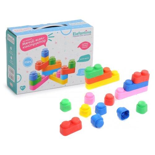 Купить Мягкий конструктор Elefantino IT104236 Для малышей, Конструкторы