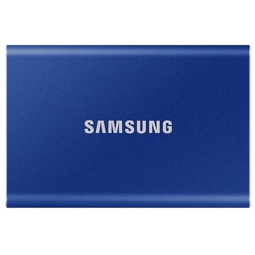Внешний SSD Samsung Portable SSD T7 2 ТБ синий