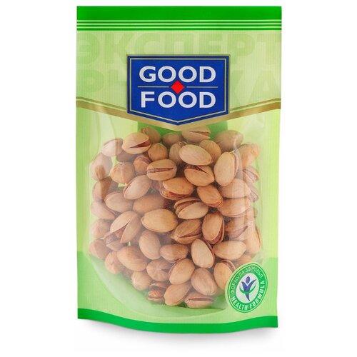 Фисташка GOOD FOOD жареная соленая пластиковый пакет 130 г конфеты good food марципановое пралине пакет 200 г