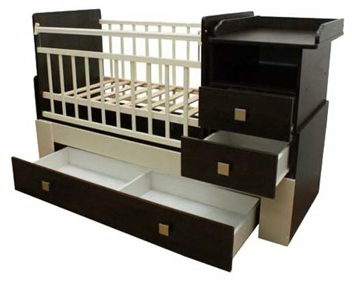 Кроватка Bambu Milana (трансформер)
