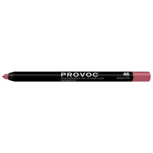 цена Provoc Гелевая подводка в карандаше для губ Semi-Permanent Gel Lip Liner 46 seduce me онлайн в 2017 году