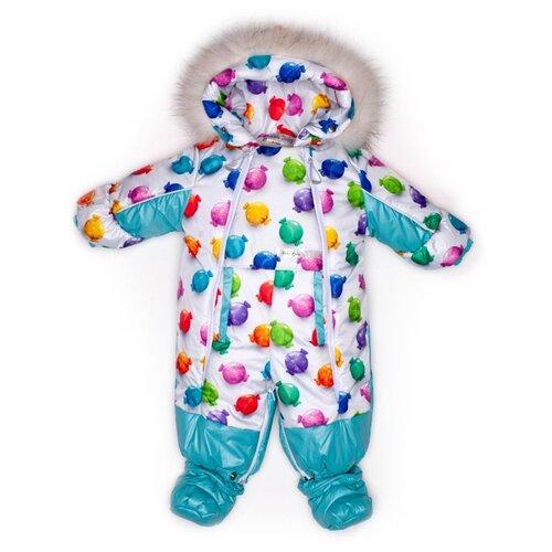 Фото - Комбинезон-трансформер MaLeK BaBy 145шм/2 размер 74, Конфеты + небесный комбинезон malek baby malek baby