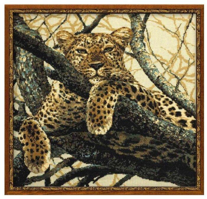 Риолис Набор для вышивания крестом Леопард 60 х 60 (937)