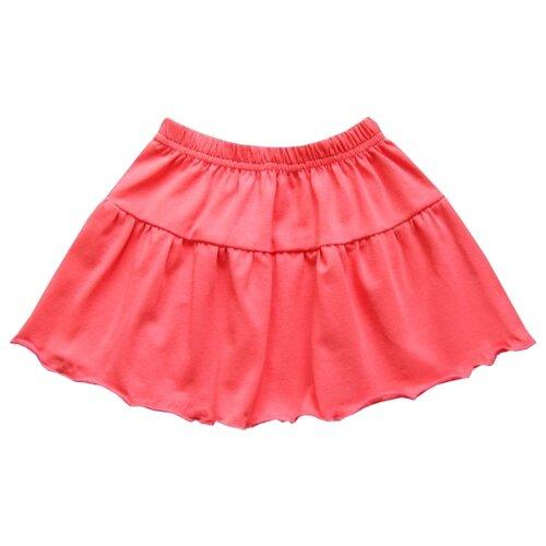 Юбка ПАНДА дети размер 92, коралловыйПлатья и юбки<br>