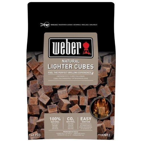 Weber Кубики для розжига натуральные, 48 шт. джемпер gerry weber gerry weber ge002ewaboa3
