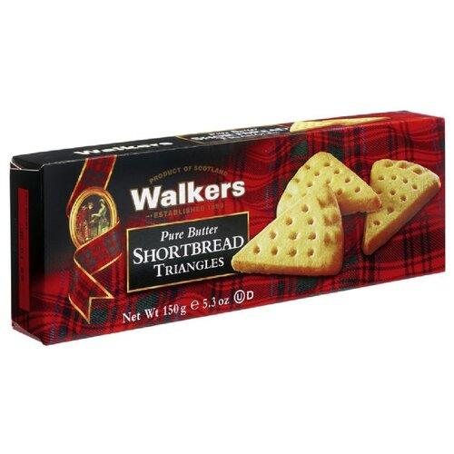 Печенье Walkers Shortbread Triangles 150 г печенье песочное треугольнички walkers 170 г