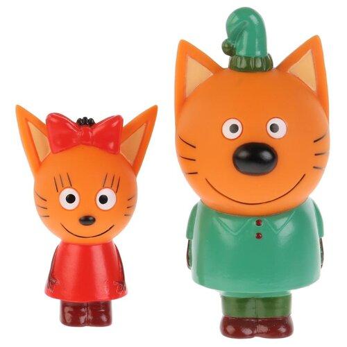 Фото - Набор для ванной Играем вместе Карамелька и Компот (ST-FT1809-07) красный/зеленый/оранжевый набор для ванной играем вместе котенок гав и щенок 136r pvc белый оранжевый