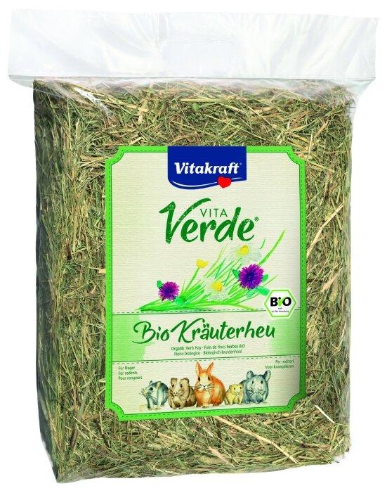 Сено Vitakraft VITA VERDE луговое смесь трав 0.75 кг