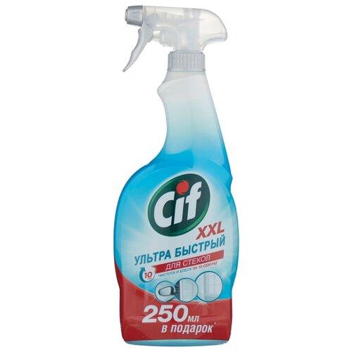 Спрей Cif для стекол Ультра быстрый 750 млДля окон и зеркал<br>