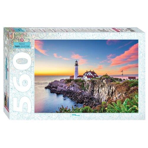 Купить Пазл Step puzzle Travel Collection США. Маяк в Портленде (78104), 560 дет., Пазлы