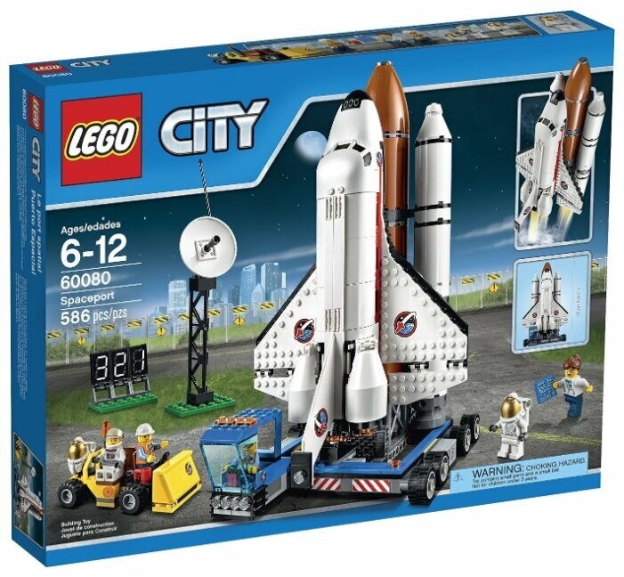 Конструктор LEGO City 60080 Космодром фото 1