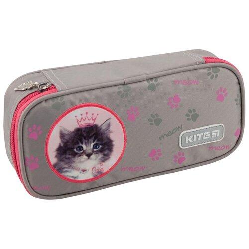 Купить Kite Пенал (R19-662) серый/розовый, Пеналы