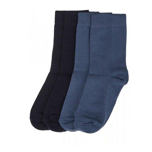 Купить Носки Oldos комплект 4 пары размер 29-31, темно-синий/джинс