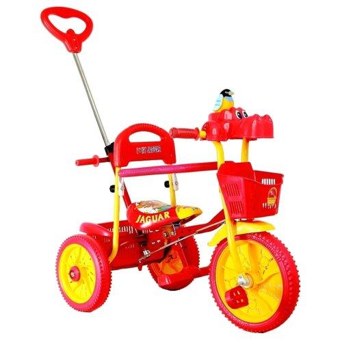 Трехколесный велосипед JAGUAR MS-0739 красный