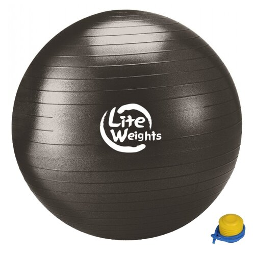 цена на Фитбол Lite Weights 1869LW черный