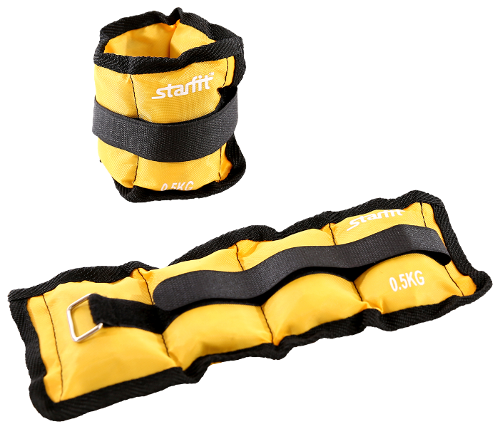 Набор утяжелителей 2 шт. 0.5 кг Starfit WT-401