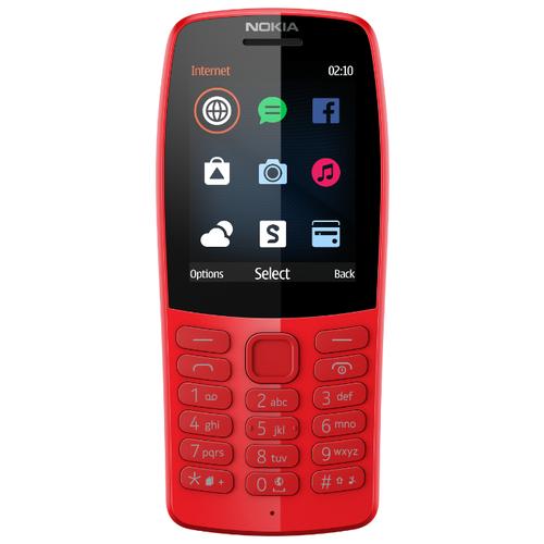 Телефон Nokia 210 красный (16OTRR01A01) телефон
