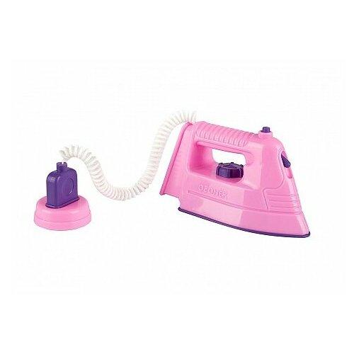 Купить Утюг ОГОНЁК С-814 розовый/фиолетовый, Детские кухни и бытовая техника