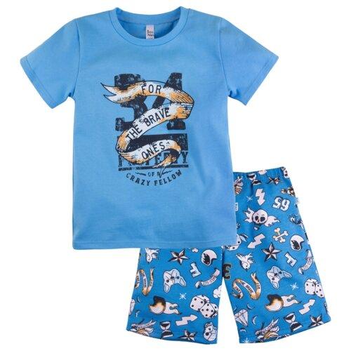 Пижама Bossa Nova размер 32, голубой/синяя набивка пижама bossa nova размер 32 зеленый