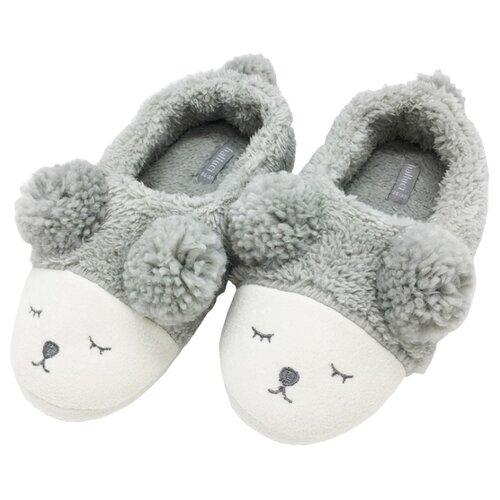 Тапочки Мишки с задником Halluci 38-39Домашняя обувь<br>