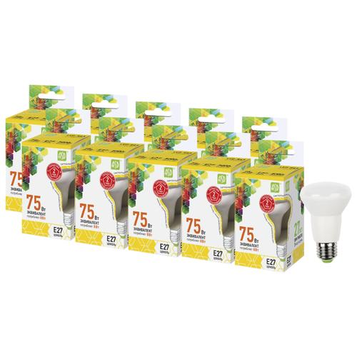 Упаковка светодиодных ламп 10 шт ASD E27, R63, 5ВтЛампочки<br>