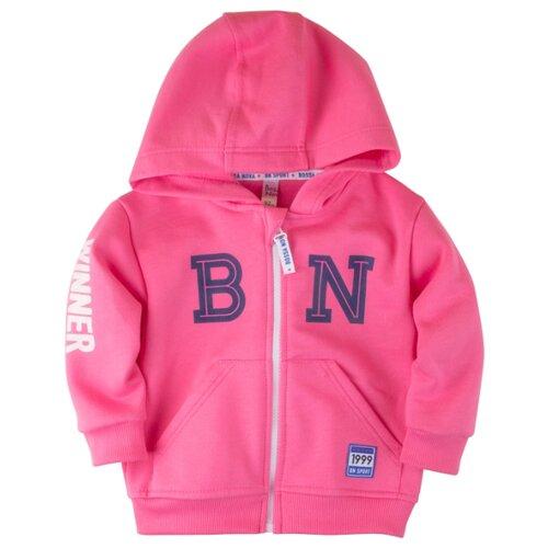 Толстовка Bossa Nova размер 92, розовый джемпер детский bossa nova цвет розовый 207б 181 размер 86 92
