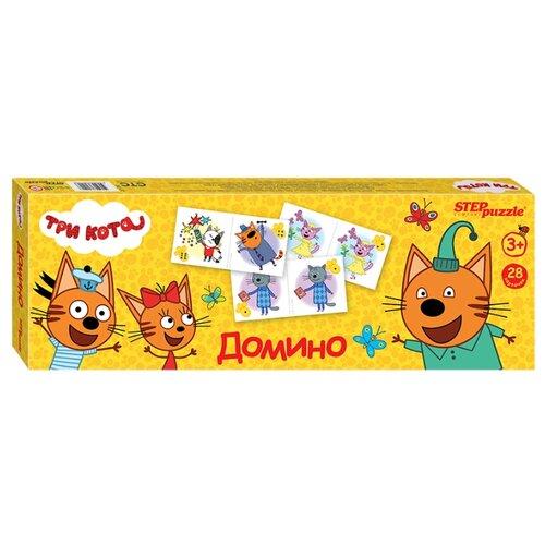 Настольная игра Step puzzle Домино Три кота