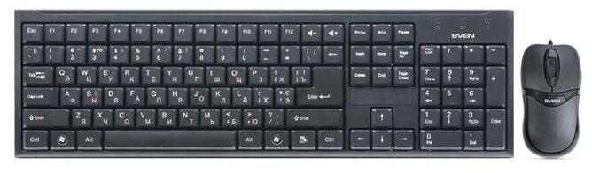 Клавиатура и мышь SVEN Standard 310 Combo Black USB