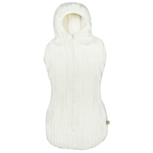 Конверт-мешок Сонный Гномик вязаный на выписку 56 см молочный сонный гномик простыня круглая на резинке молочный
