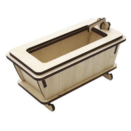 Купить Astra & Craft Деревянная заготовка для декорирования Ванна L-542 бежевый, Декоративные элементы и материалы