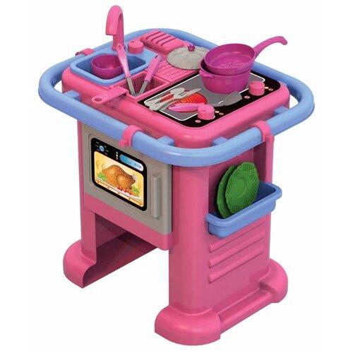Купить Кухня Нордпласт Волшебная Хозяюшка №1 601 розовый/голубой, Детские кухни и бытовая техника
