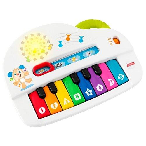 Fisher-Price пианино GFK10 разноцветный сортер fisher price друзья из тропического леса cmy38