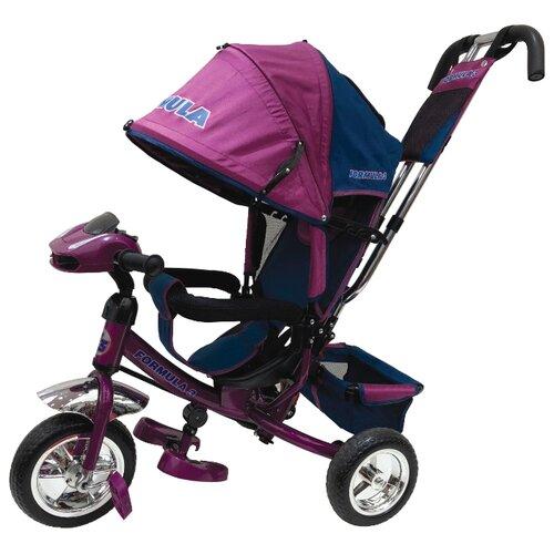 Купить Трехколесный велосипед Formula F3 Formula 3 фиолетовый, Трехколесные велосипеды