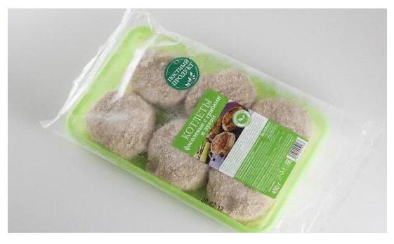 ВкусВилл Котлеты фасолевые с грибами и луком 450 г