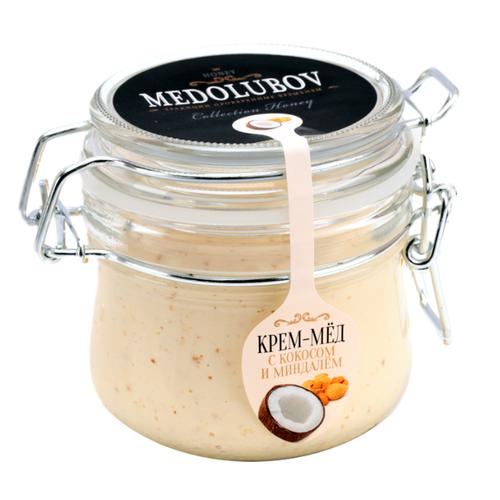 Крем-мед Medolubov с кокосом и миндалем (бугель) 250 мл