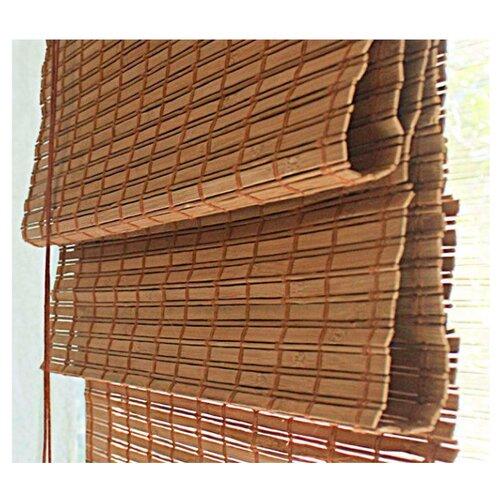 Фото - Римская штора Эскар бамбуковые (какао), 90х160 см римская штора томдом олинави нефритовый
