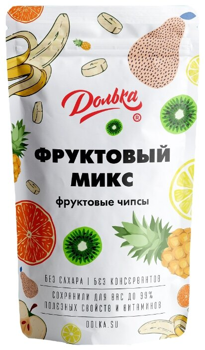 Чипсы Долька фруктовые Фруктовый микс