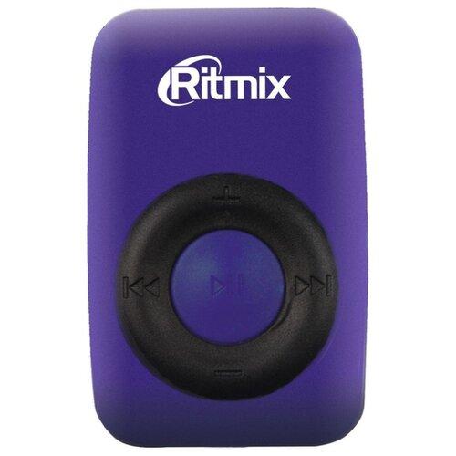 Плеер Ritmix RF-1010 фиолетовый/черный
