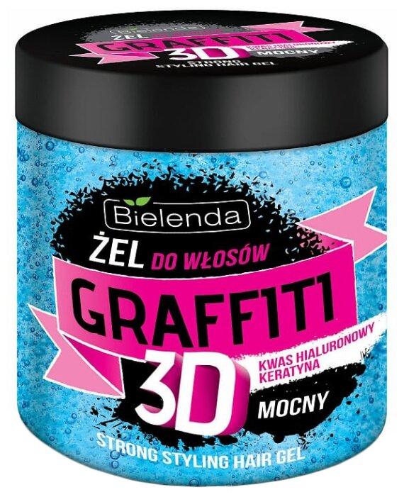 Bielenda GRAFFITI 3D гель для волос Mocny