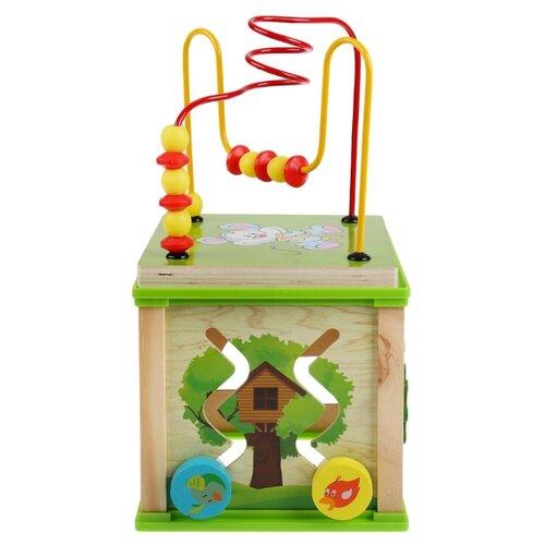 Игрушка деревянная Буратино сортер Волшебный куб сортер red box активный куб
