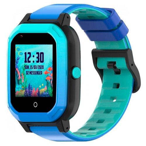 Детские умные часы c GPS Smart Baby Watch KT20 голубой детские умные часы c gps smart baby watch kt03 голубой синий