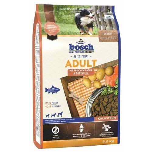 Сухой корм для собак Bosch Adult лосось с картофелем 3 кг