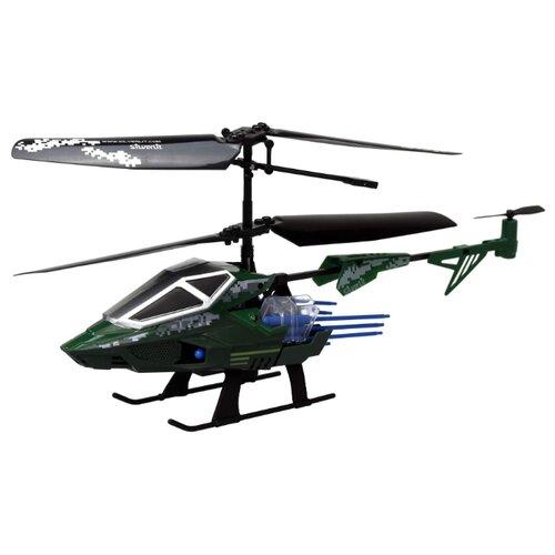 Купить Вертолет Silverlit Heli Sniper 2 (84781) 15 см черный/зеленый, Радиоуправляемые игрушки