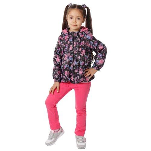 Ветровка V-Baby 56-054 размер 122, мультицветКуртки и пуховики<br>