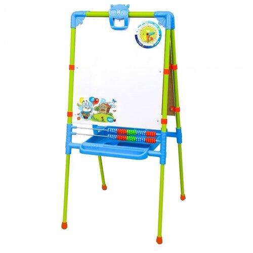 Купить Мольберт детский Nika к комплекту детской мебели Веселая азбука (М2/ВА) зеленый/синий, Доски и мольберты