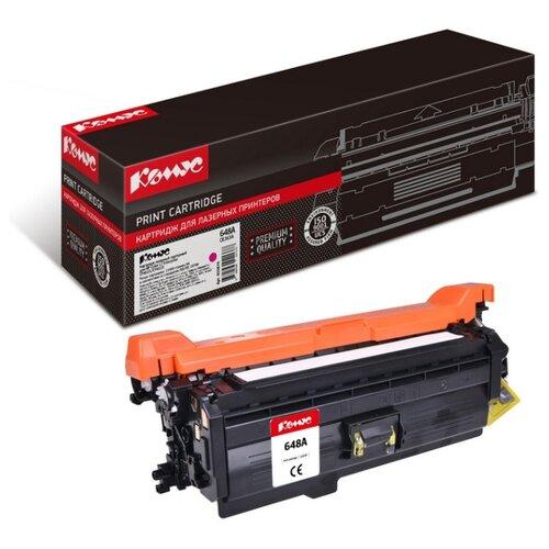Фото - Картридж лазерный Комус 648A CE263A для HP CLJCP4025/CP4525 картридж nv print ce263a пурпурный для hp cp4520 cp4525