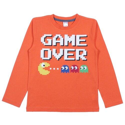 Лонгслив cherubino размер (104)-56, оранжевый футболка cherubino caj 61374 серый р 146