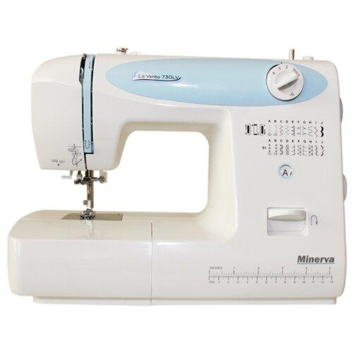 Швейная машина Minerva VENTO 730LV, бело-голубой