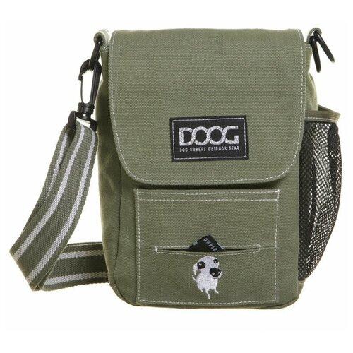 Сумка на плечо DOOG, зеленая, 21х25х6см (Австралия)
