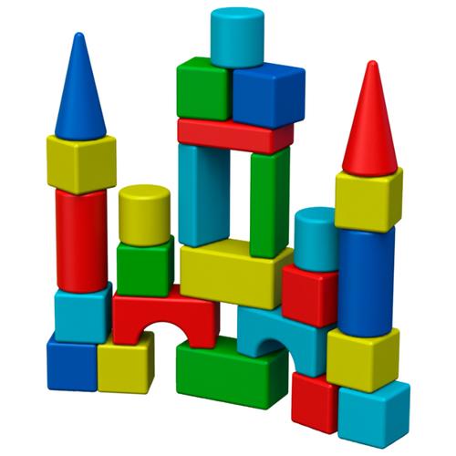 Кубики Okikid Теремок Т2-1-015Детские кубики<br>